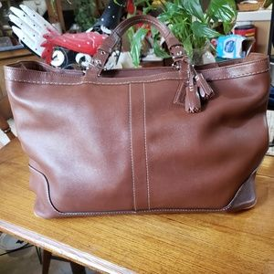 Coach Tote - Brown - Large